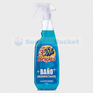 3 Brujas / 3 Witches Bano Disinfectant 750ml