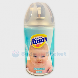 Las Dos Rosas (Compatible with Freshmatic) Air Freshener Refill Baby Cologne